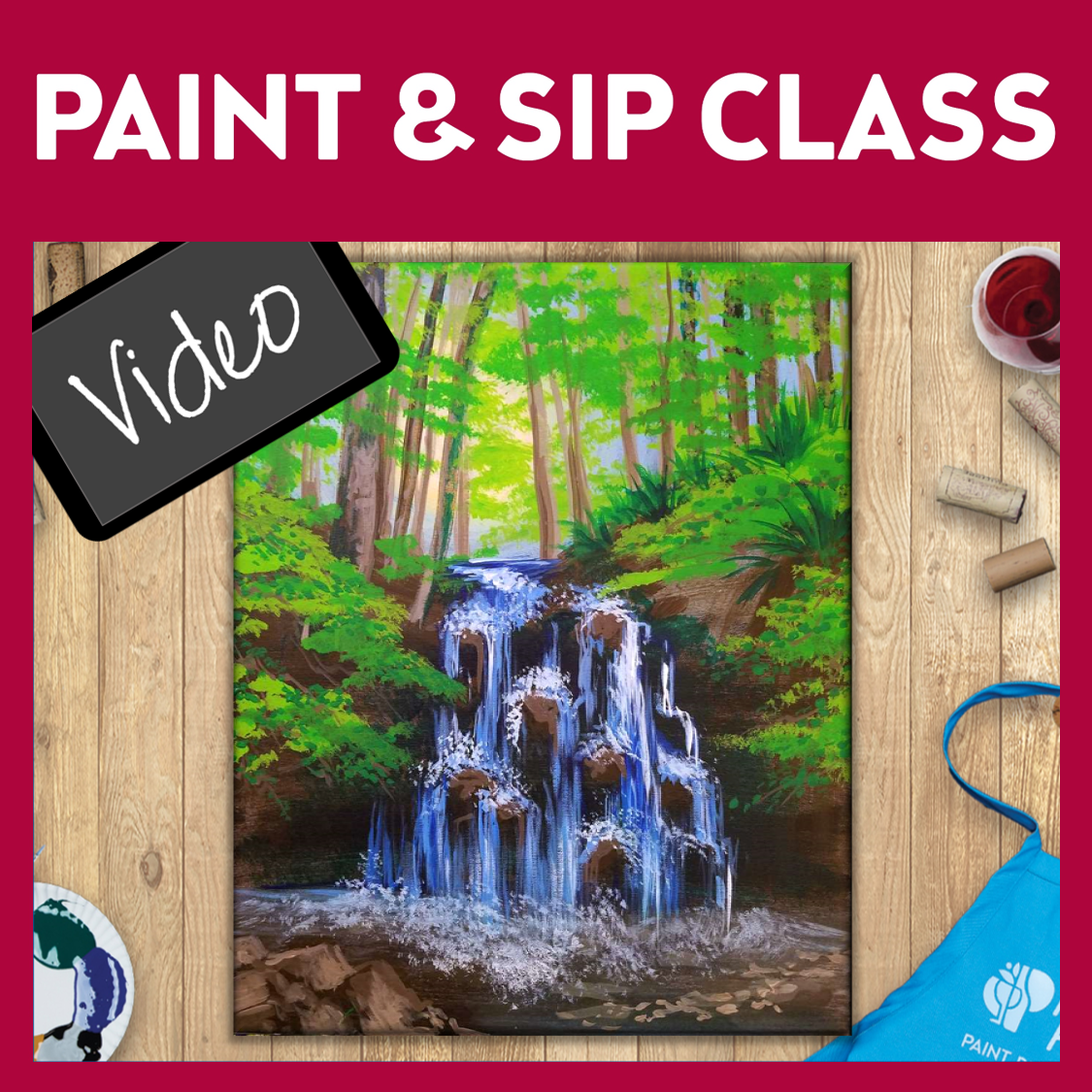 Paint & Sip Video !!