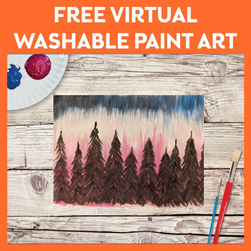 Virtual All Ages Washable Painting Fun
