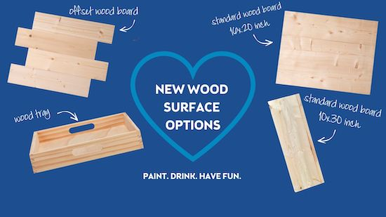 Introducing New Wood Surfaces!!