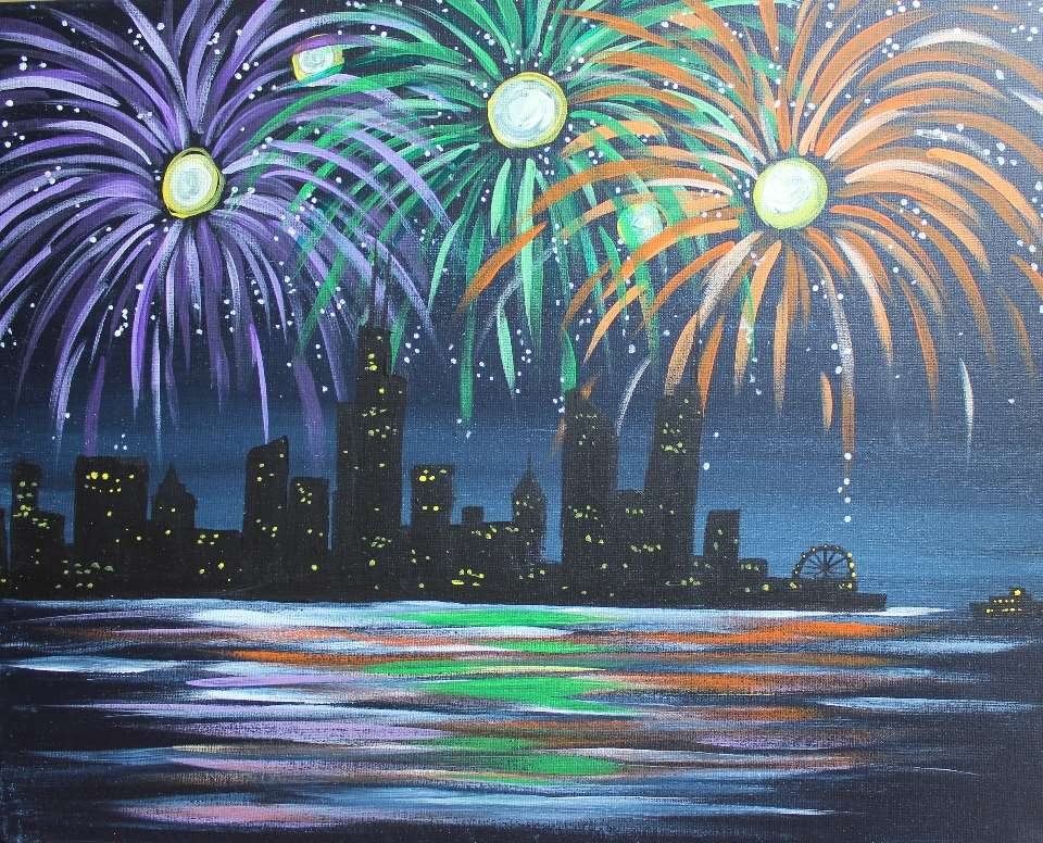 Fireworks over Chi-Town