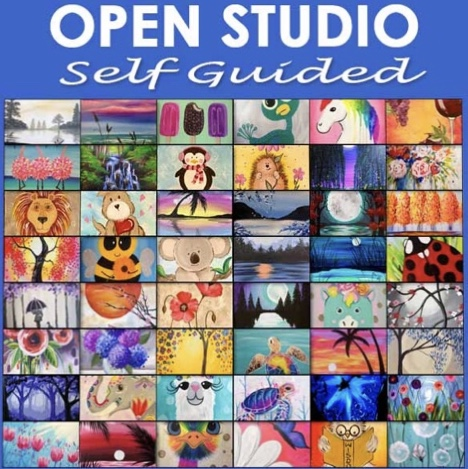 OPEN STUDIO- IN STUDIO EVENT- VERY LIMITED SEATING DUE TO SOCIAL DISTANCING
