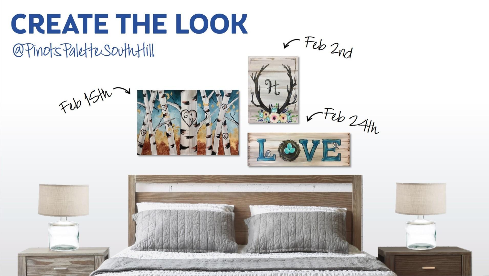 Create The Look - February Edition