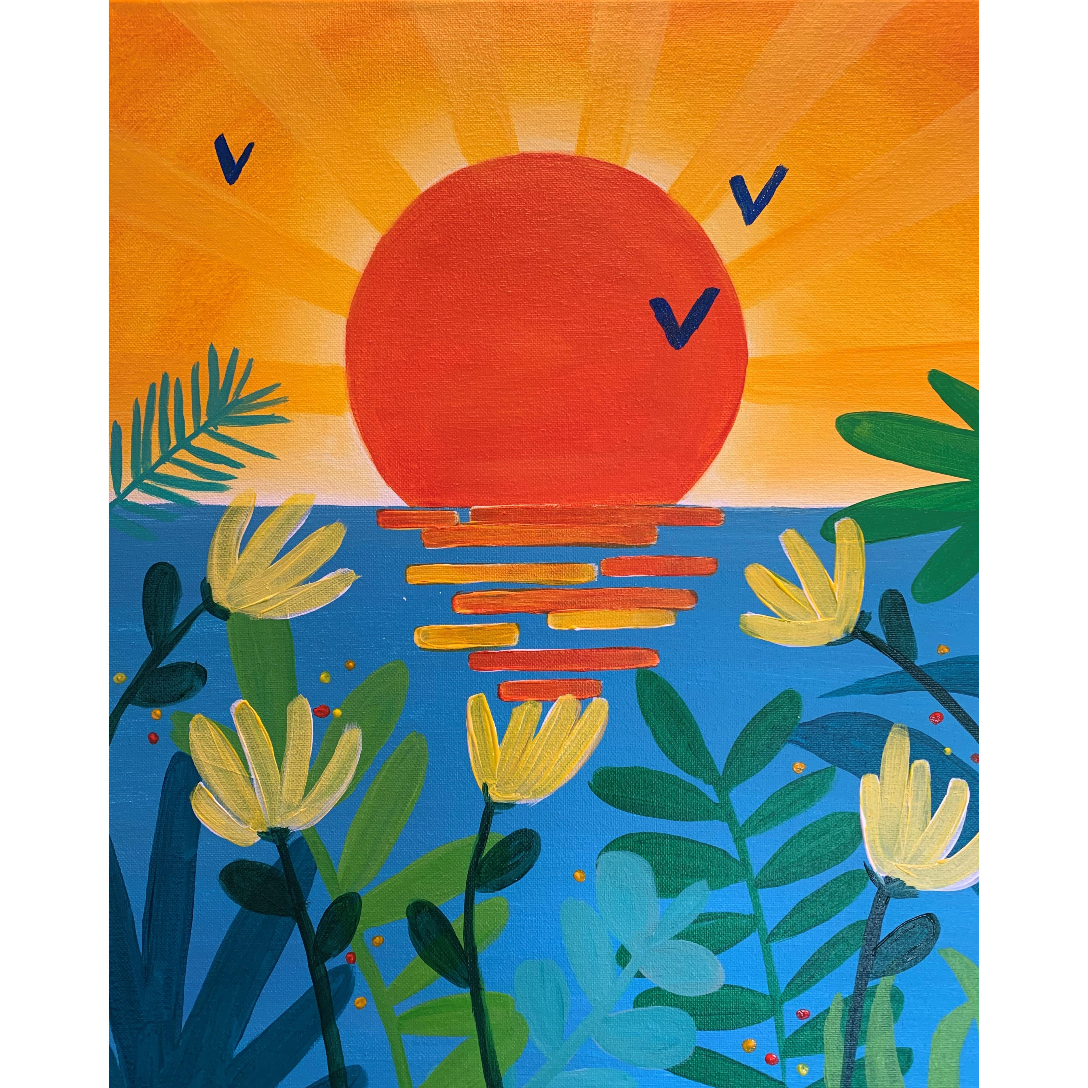 Lush Sunrise