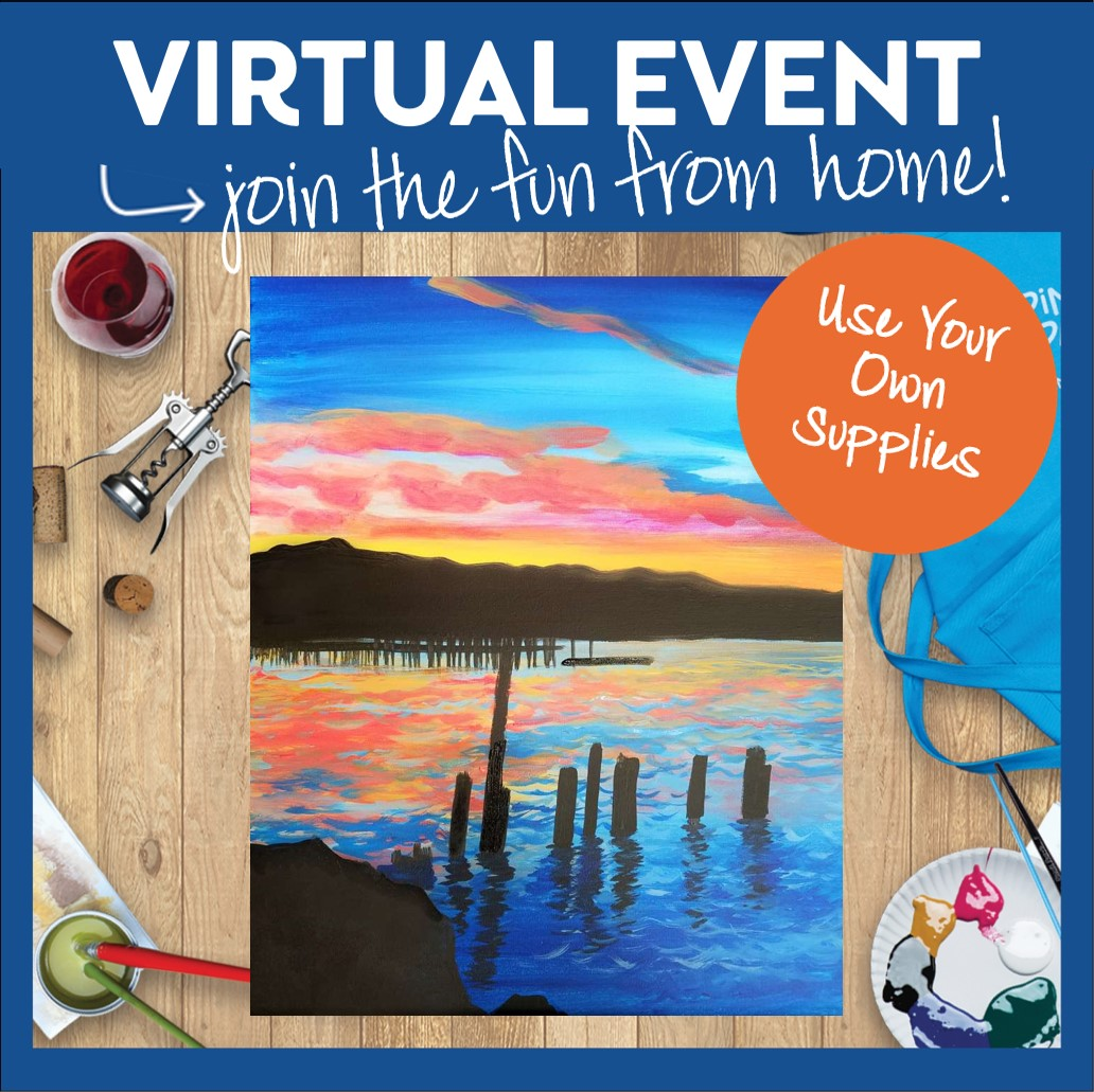 #PINOTSLIVE VIRTUAL CLASS - USE YOUR OWN SUPPLIES