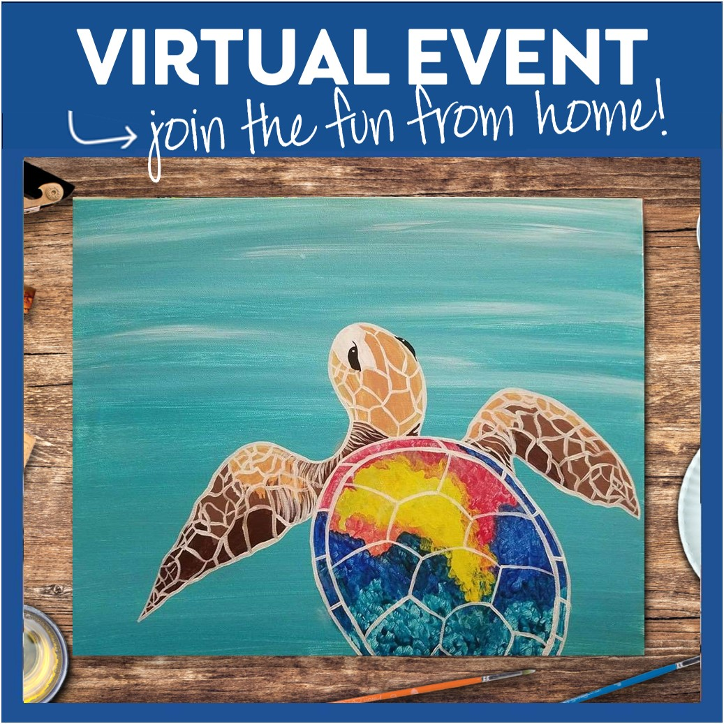 #PINOTSLIVE FROM SOUTH HILL VIRTUAL EVENT - PAINT KIT INCLUDED