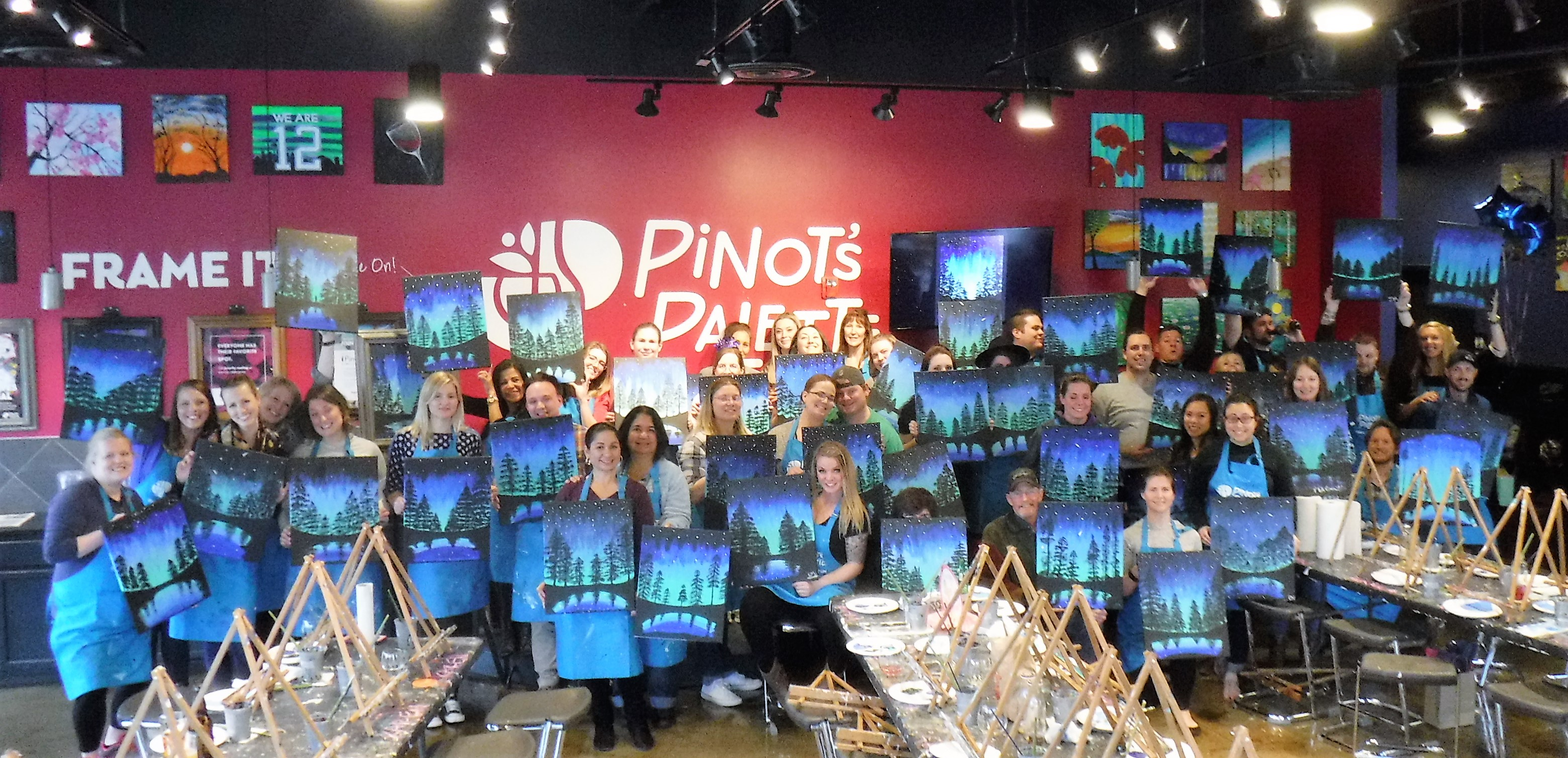Aurora Through the Trees Sold Out Class