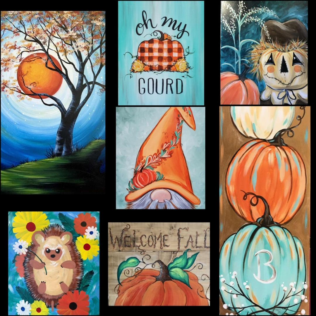 Get Your Home Fall-Ready With Some New Artwork!