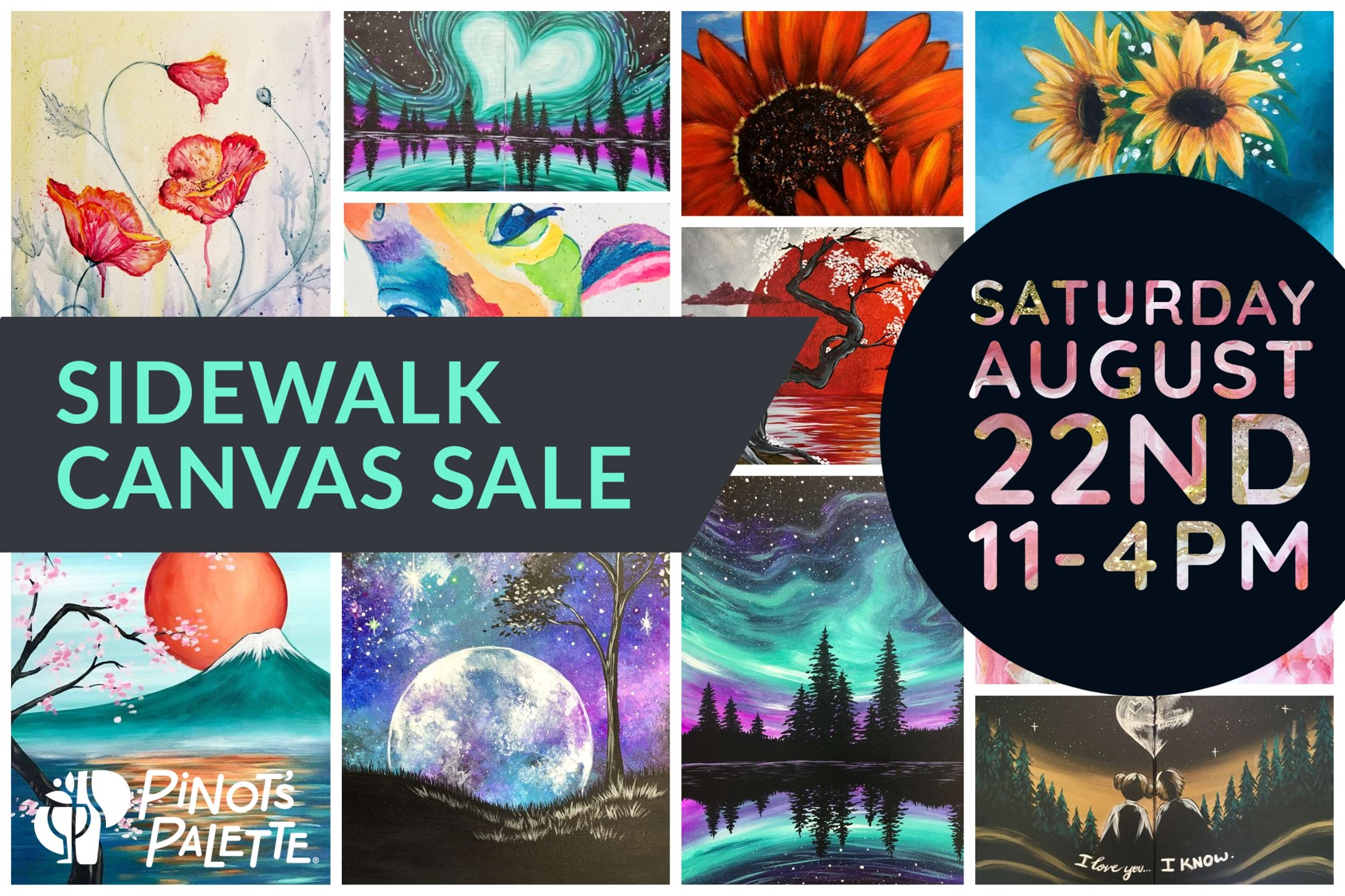 Sidewalk Canvas Sale