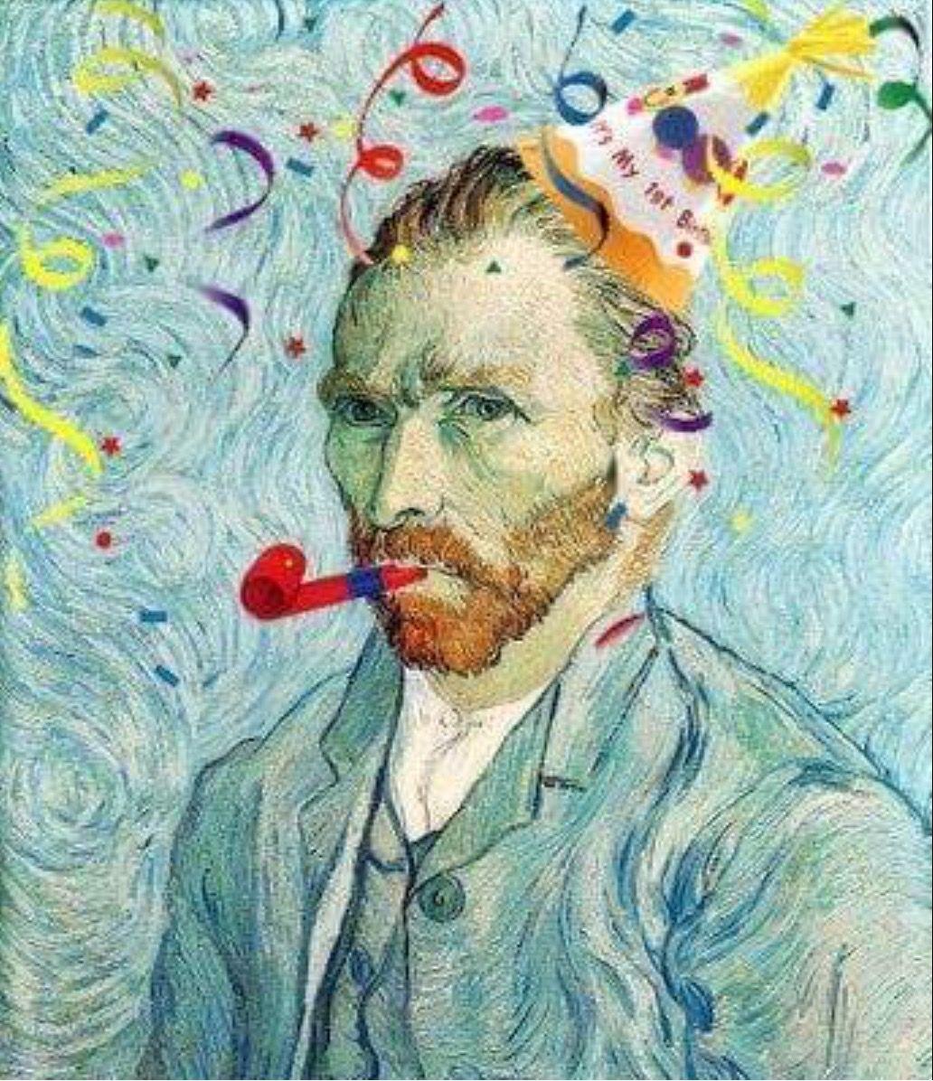 Happy Birthday Van Gogh!