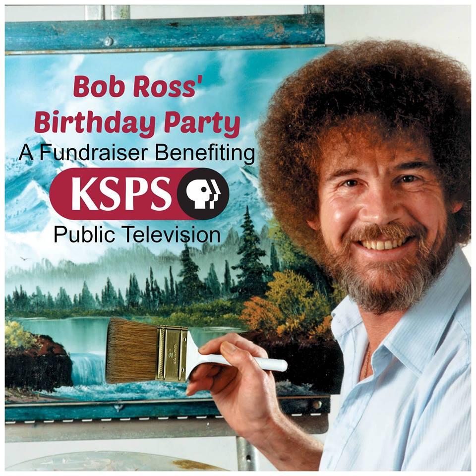 Celebrating Bob Ross' Birthday