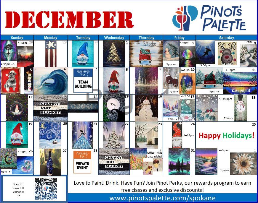 Dashing to December!