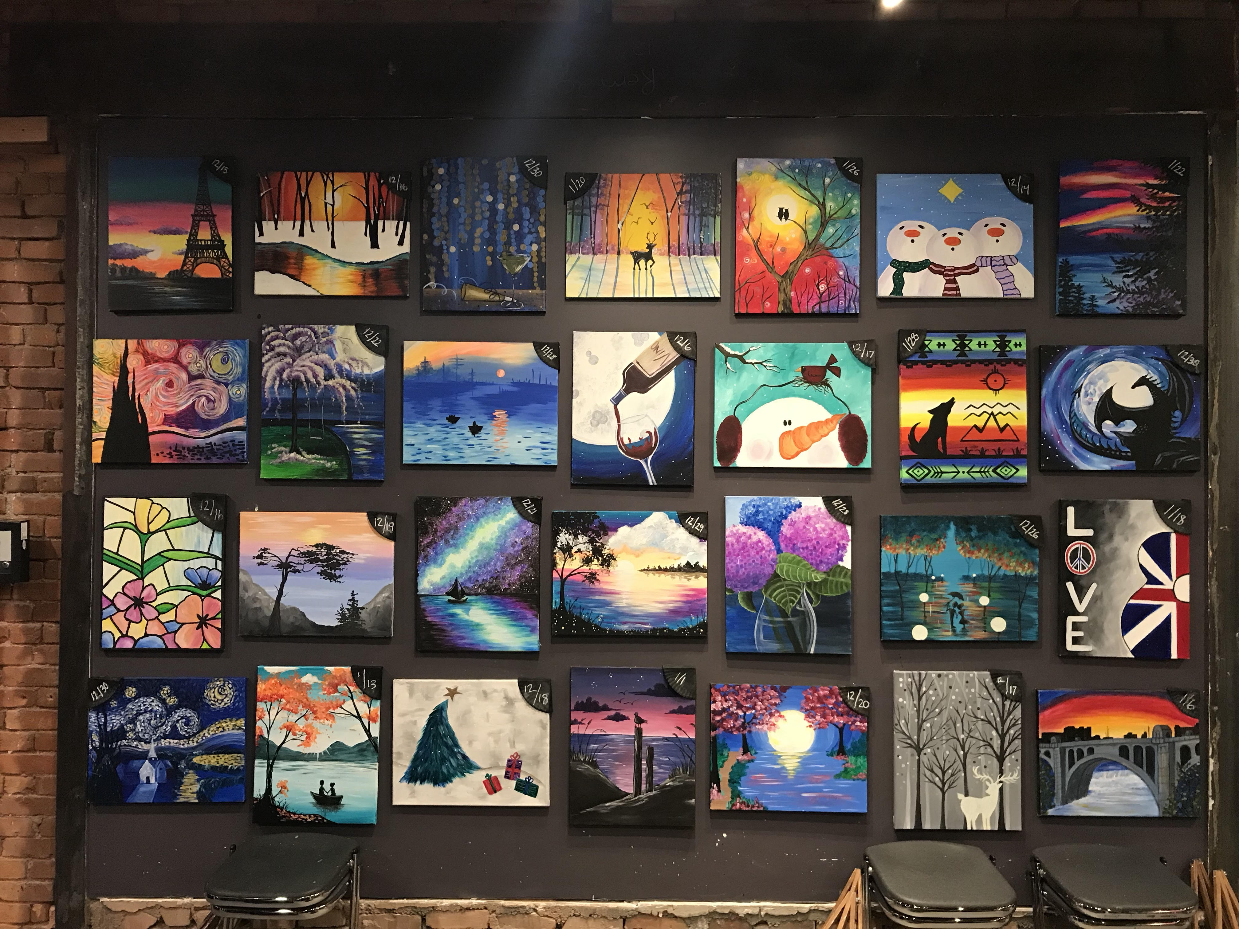 Paint & Sip With Us In January!