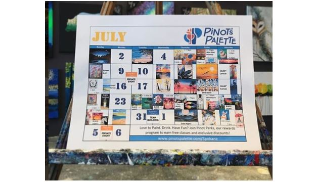 July Specialty Painting Classes