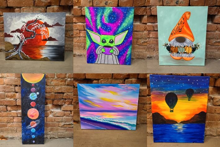 Paintings For Sale!