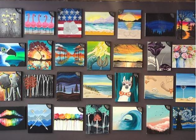 September Specialty Painting Classes