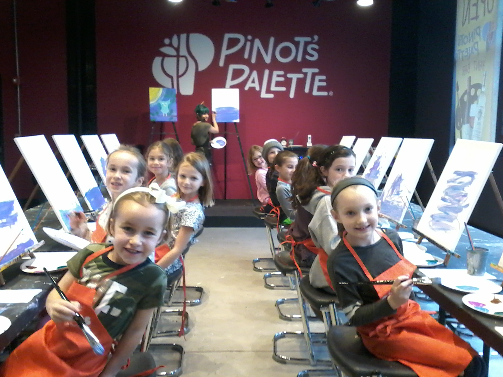 Little Brushes by Pinot's Palette Offers Kids' Art Enrichment Camp This Summer 2017