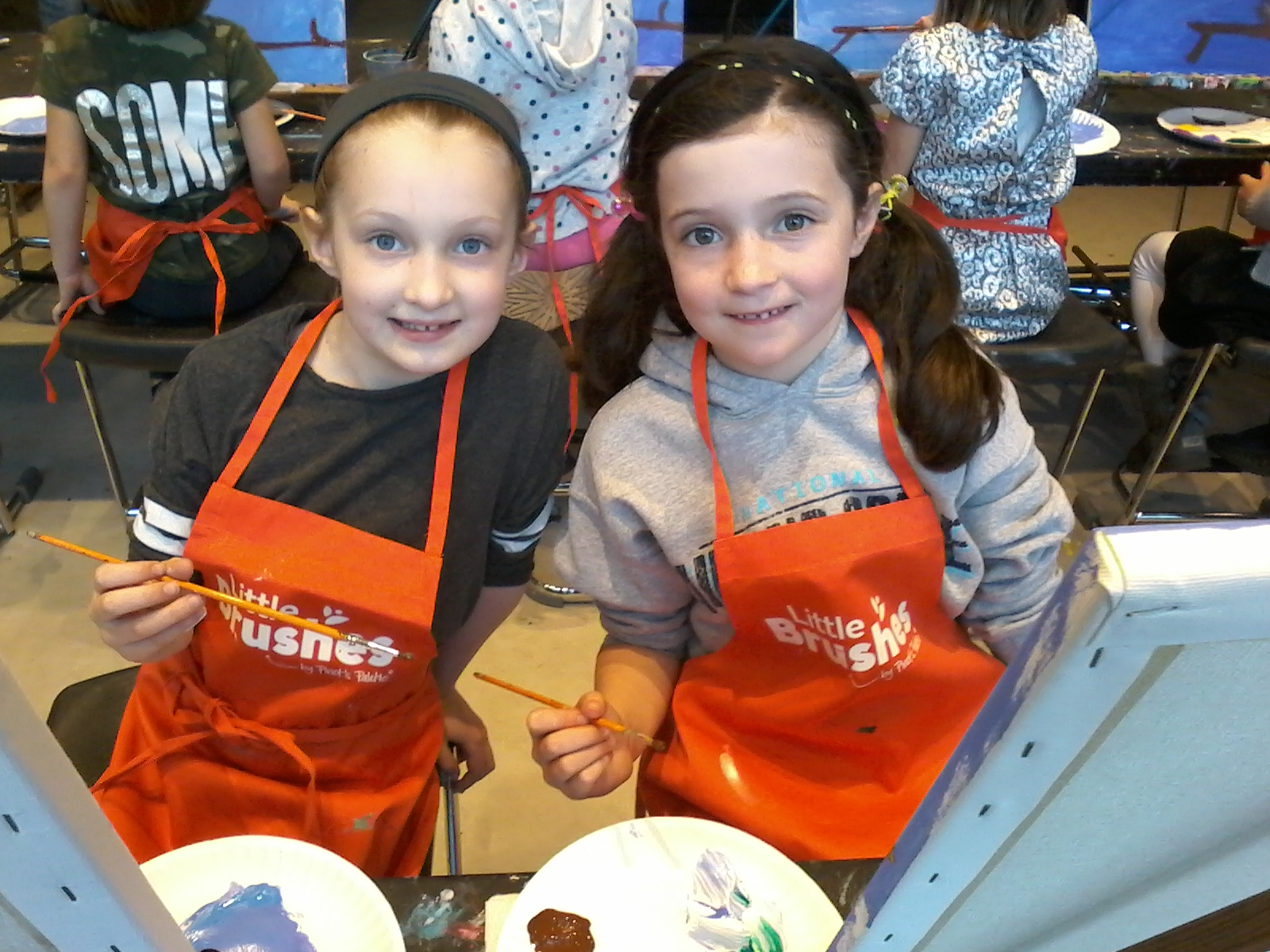 Week 1 - Little Brushes by Pinot's Palette Offers Kids' Art Enrichment Camps Summer 2017