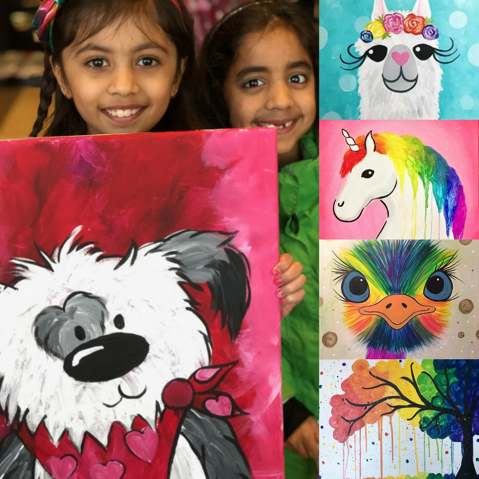 Kids' Art Camp - Summer 2018!