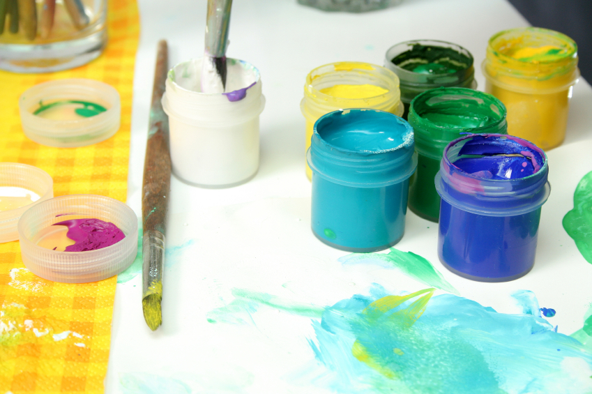 Week 2 - Little Brushes by Pinot's Palette Offers Kids' Art Enrichment Camps Summer 2017