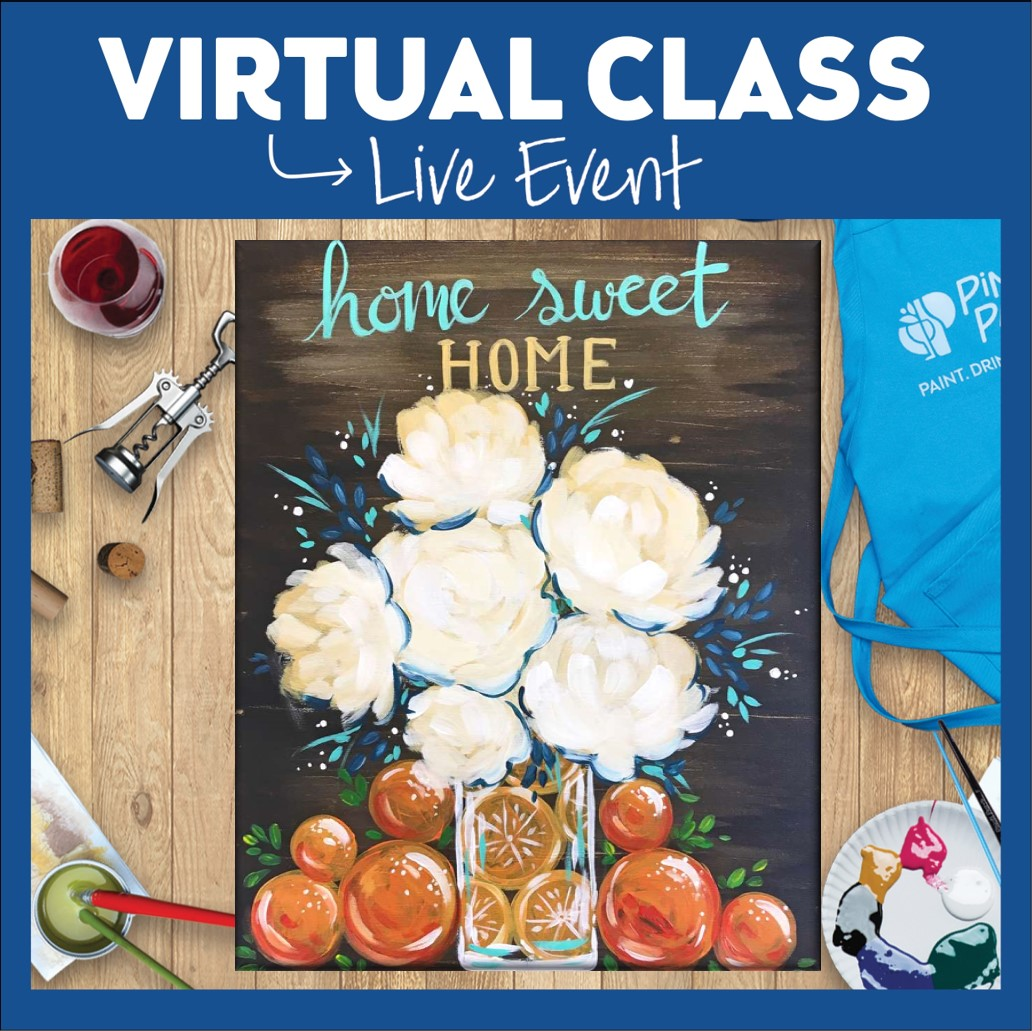 LIVE INTERACTIVE VIRTUAL CLASS - ART KIT INCLUDED (HAVE SUPPLIES?  THEN IT'S ONLY $15!)