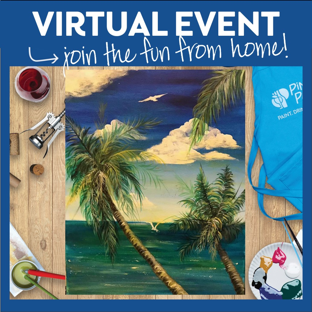Live Virtual Event - Pick-Up Supplies In Studio Wed -Sat 11-3