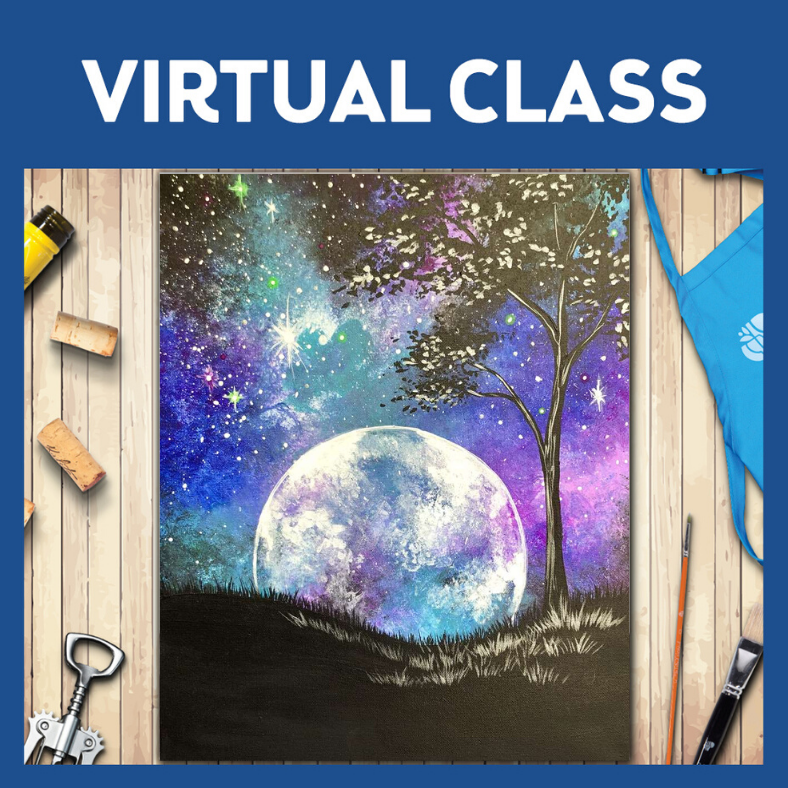 LIVE INTERACTIVE CLASS - SUPPLIES INCLUDED