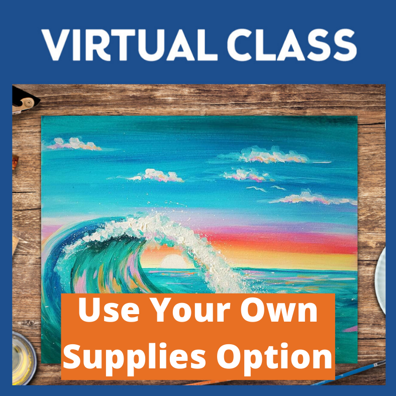 LIVE INTERACTIVE CLASS - SUPPLIES NOT INCLUDED