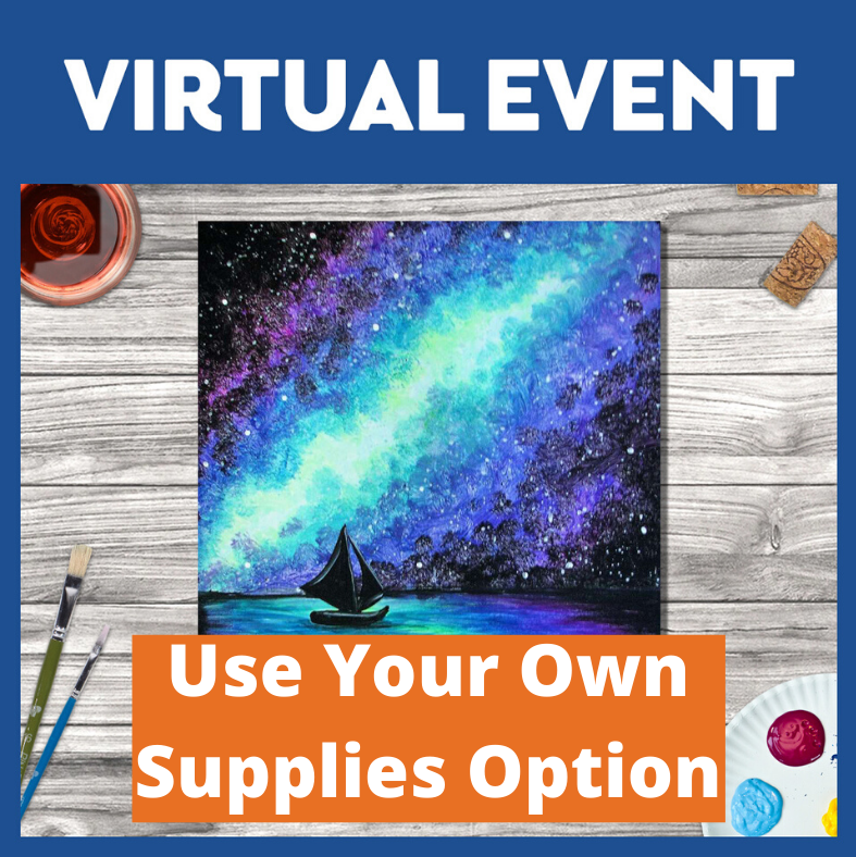 LIVE INTERACTIVE CLASS - NO SUPPLIES INCLUDED