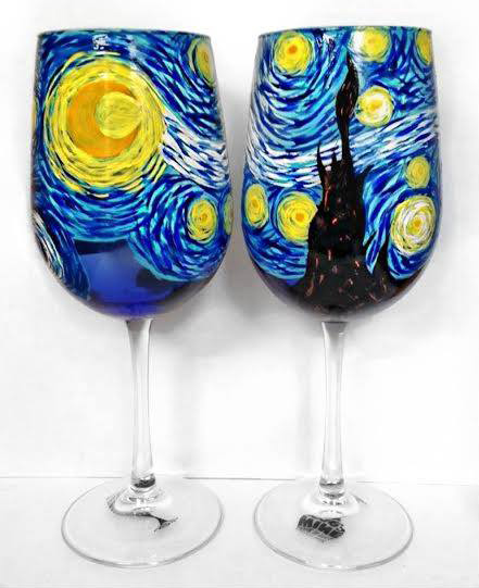 Glass class tue may 23 7pm at st louis park for Wine and paint st louis