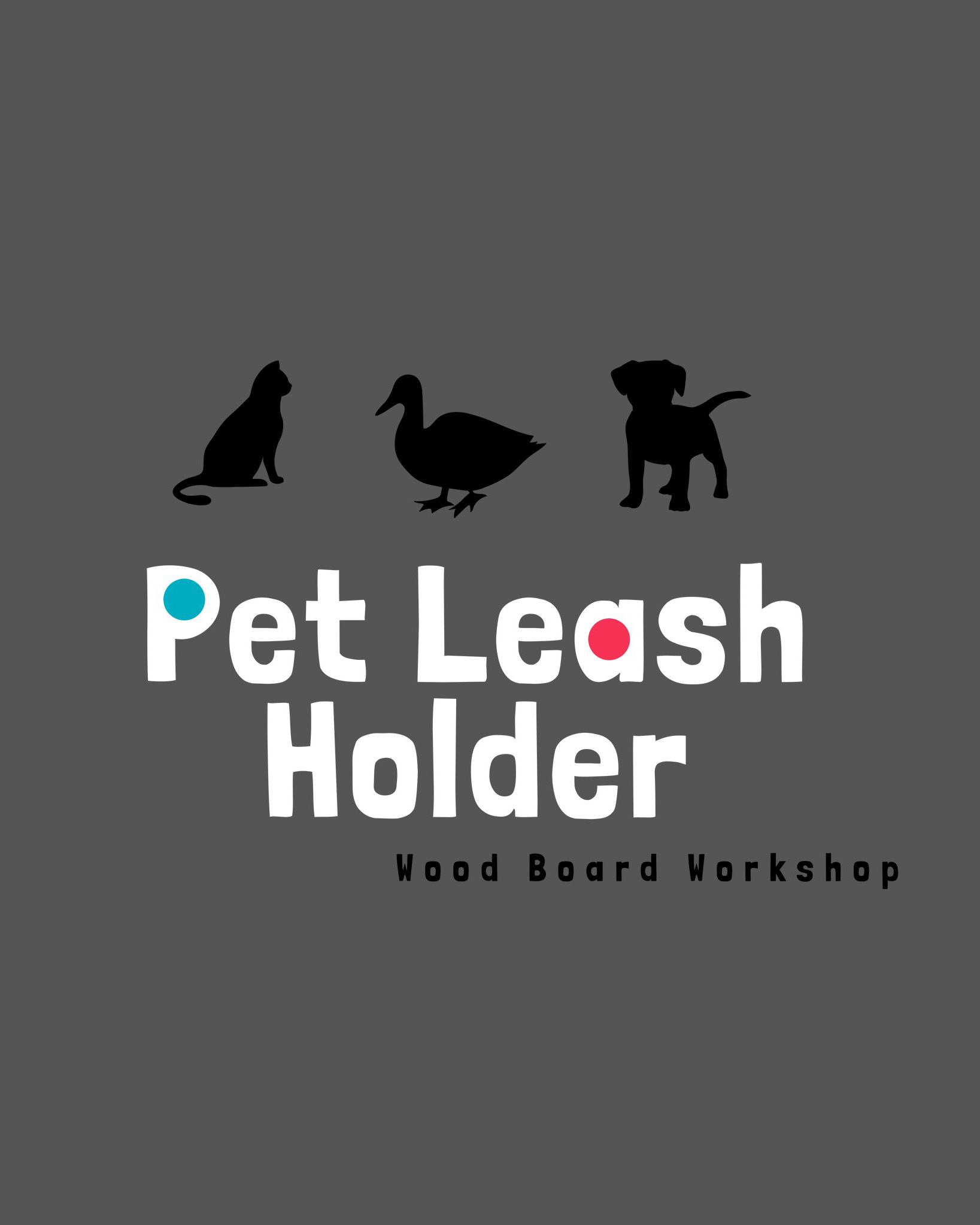 Make Your Own Pet Leash Holder