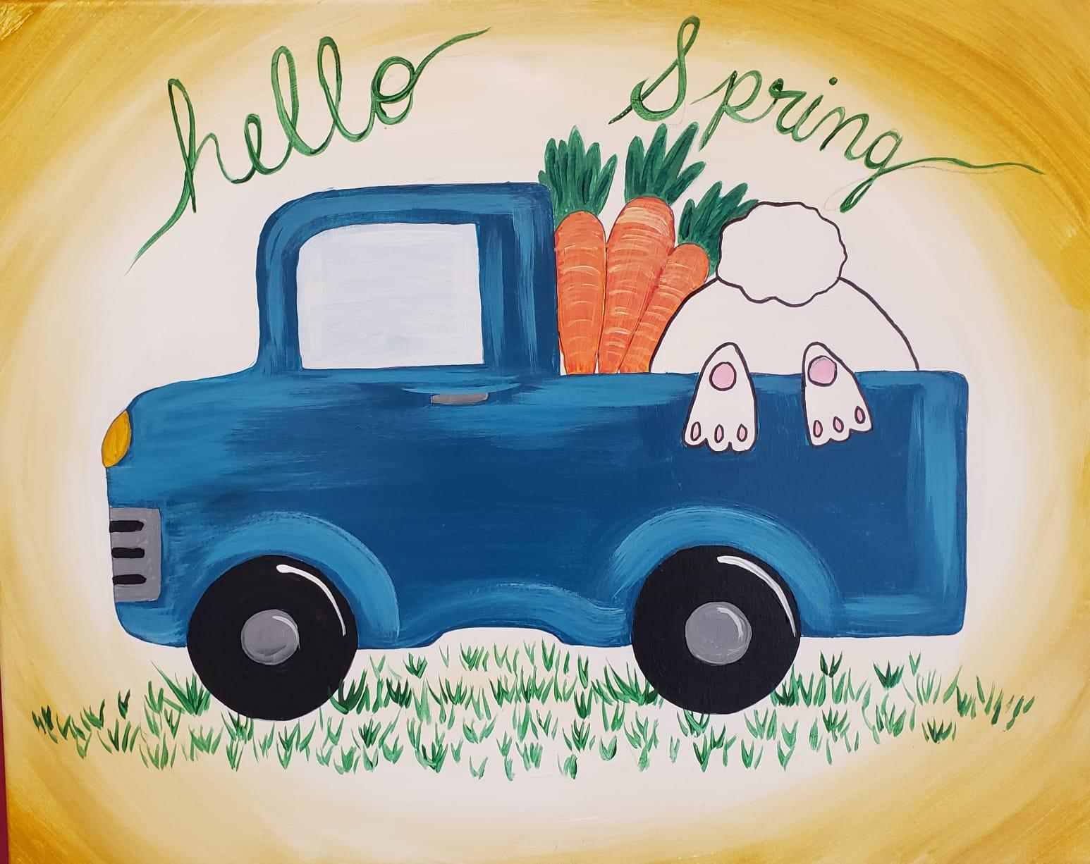 Hippity Hop into Spring