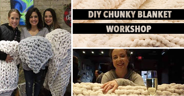 DIY Chunky Blanket Workshop