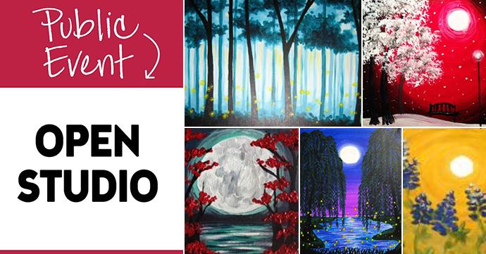 Open Studio Paint and Sip