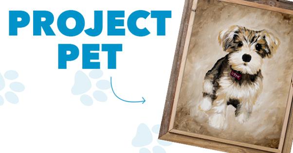 Project Pet Paint Party