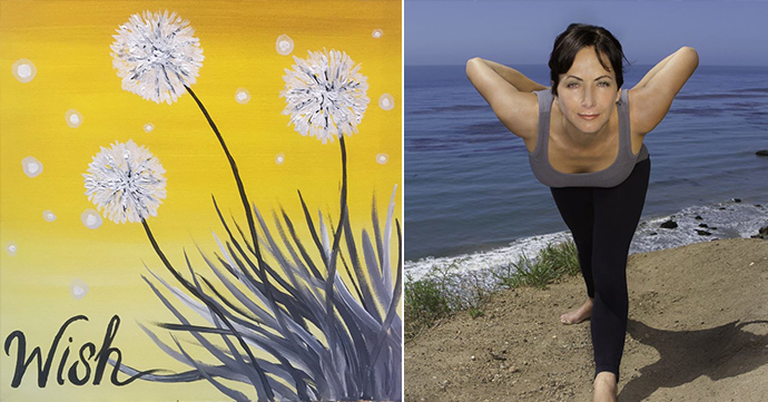 Yoga Paint and Sip