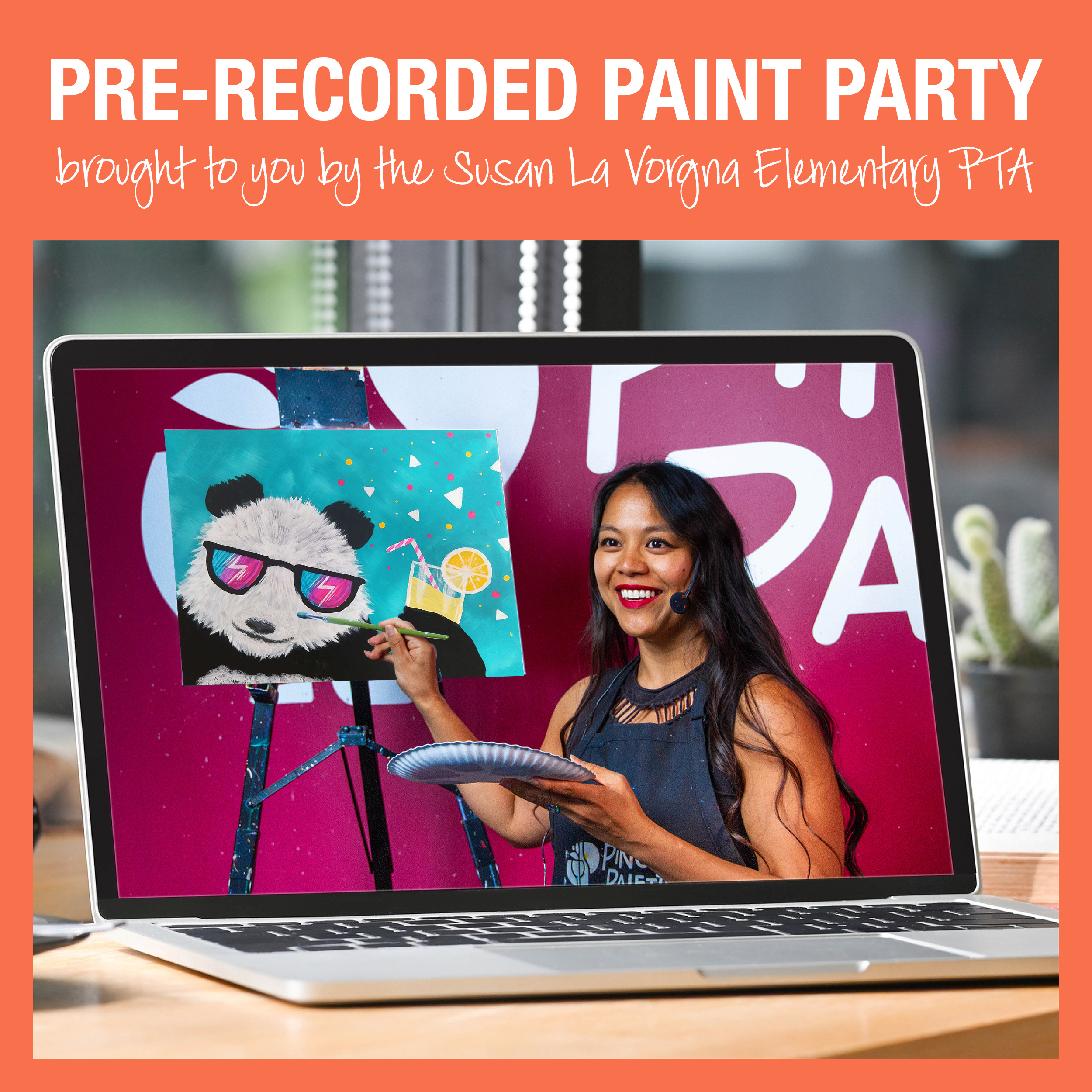Pre-recorded Paint Party Video
