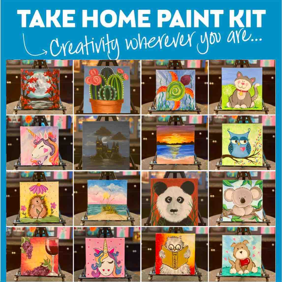 Paint At Home Self Guided Kits * Order Now - Pickup Tomorrow