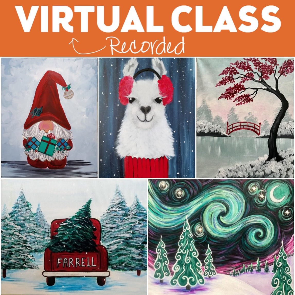 Holidays At Home Recorded Classes * Order Today - Pickup Tomorrow