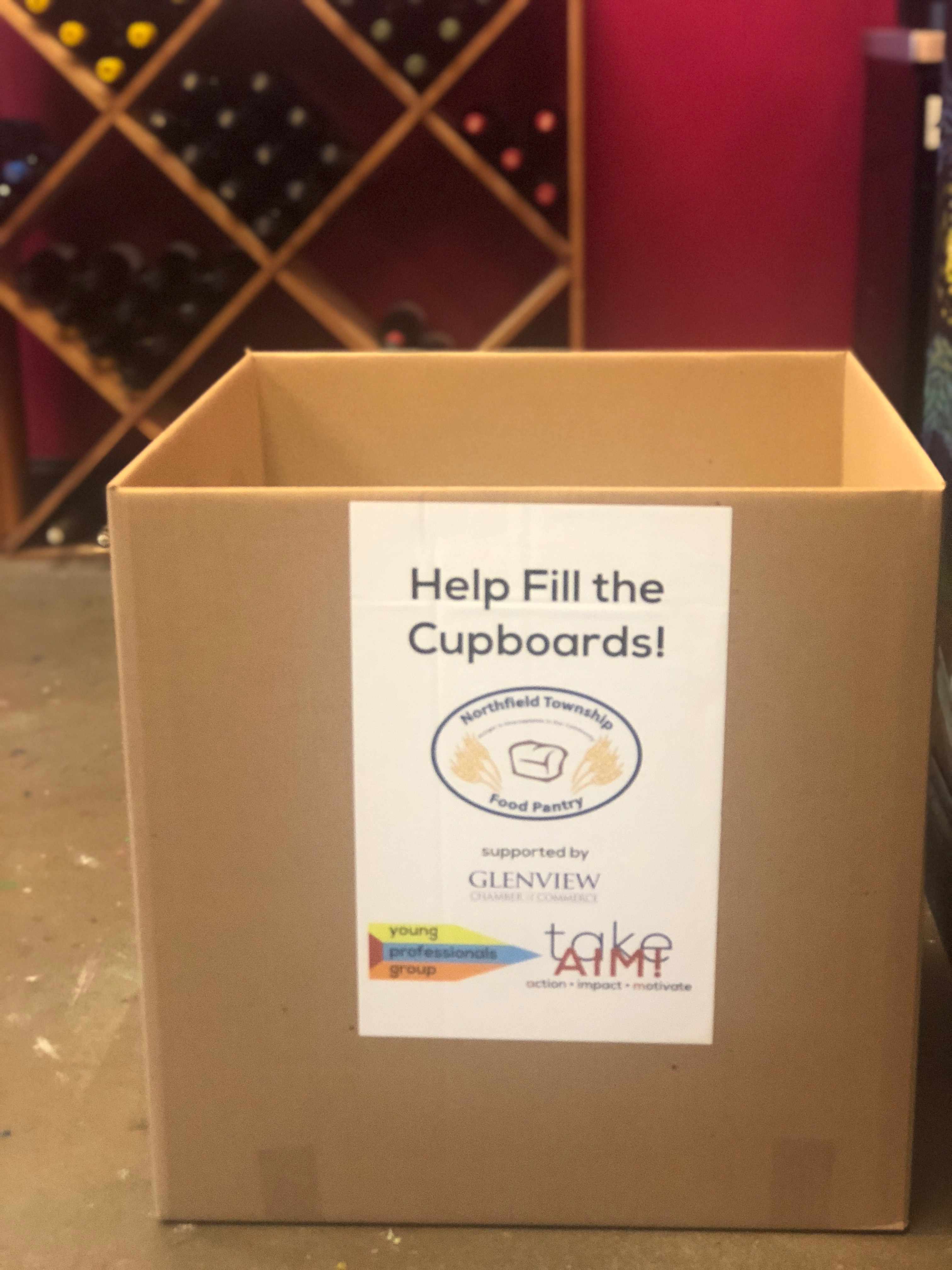 Help Fill The Cupboards!