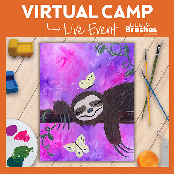 Live Virtual Painting Camp!