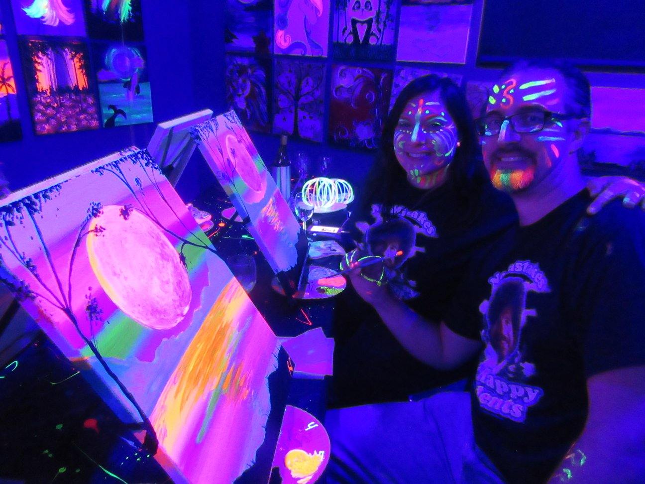 Previous Black Light Thursday Class at Town Square