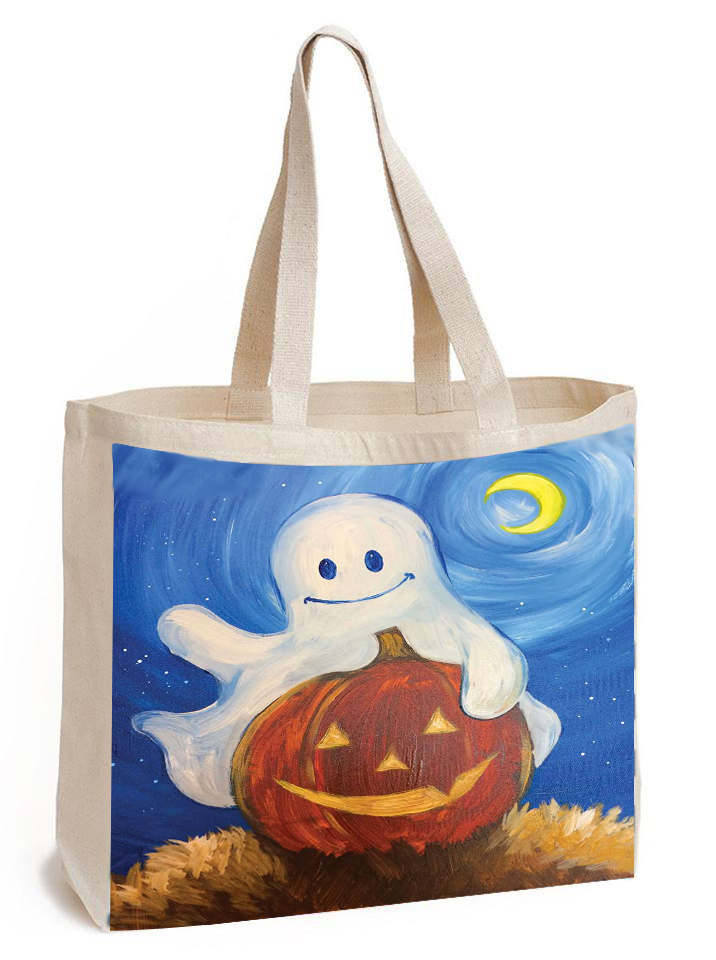 Family Day! Paint a Boo Bag!