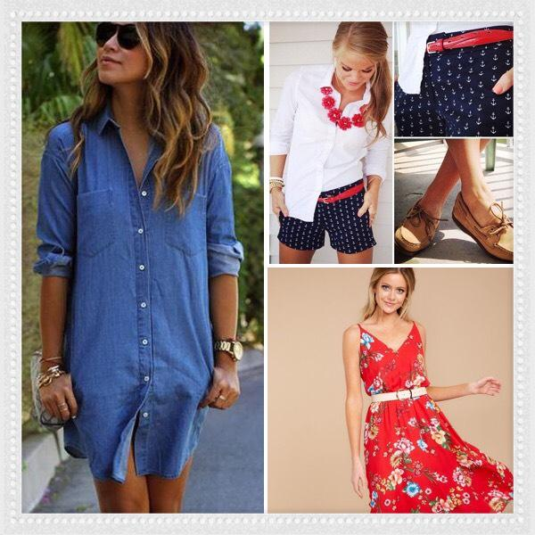 outfit ideas for 4th of july cute outfits for the fourth of July parties pinot's palette Tustin