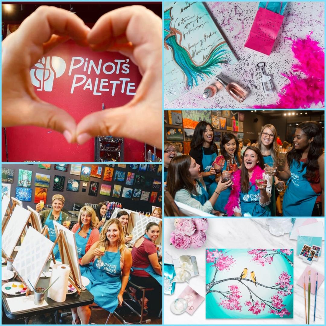 Have Your Bridal Shower Or Bachelorette Party At Pinot's Palette!