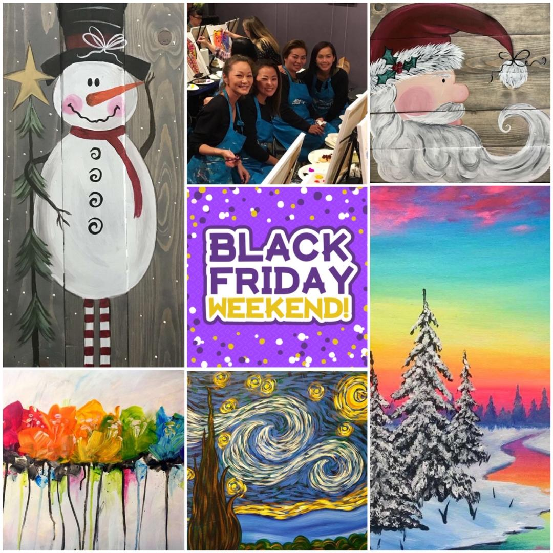 Black Friday Weekend (& Other Upcoming Deals) At Pinot's Palette