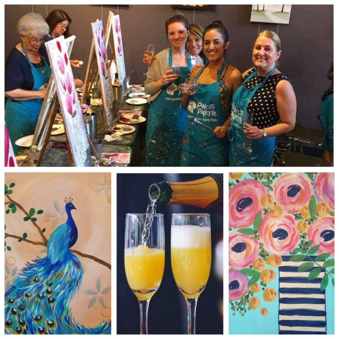 Host A Brunch Private Party At Pinot's Palette!