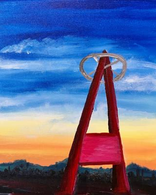 Join Us For A Painting Class & Baseball Game At The Angels Stadium!!!