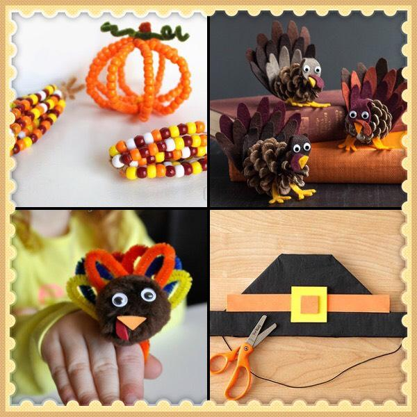 Check Out These Crafts Ideas For The Kids To Make This Thanksgiving