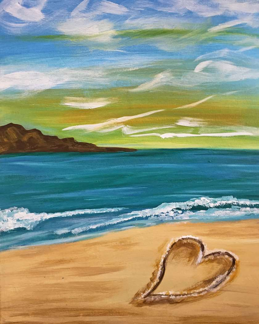 """Heart in the Sand"""