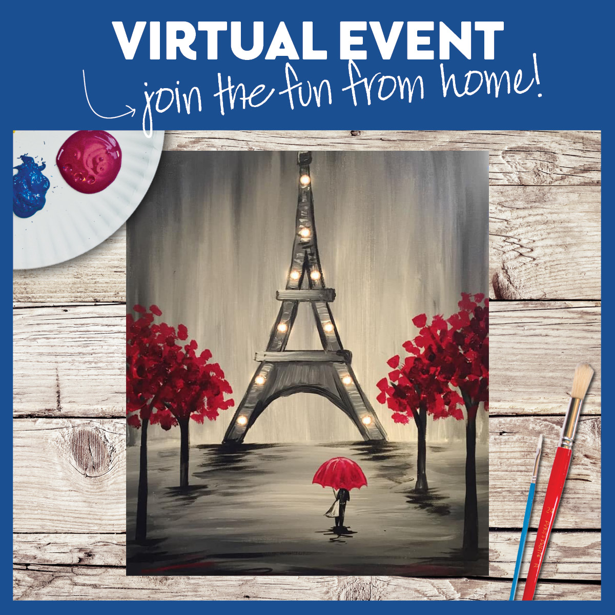 LIVE VIRTUAL EVENT! LIGHTS INCLUDED!